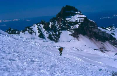 rainier 2: Skiing on Mt Rainier.