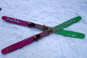 G3′s Empire Carbon 115 Skis for 2015 – Gear Review