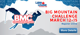 Finally, A Senior Comp! Lake Louise Says Register Now!