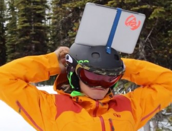 Amazing New iPad Helmet Cam Invention