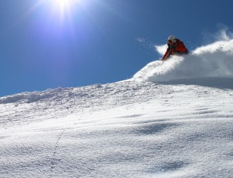 Pow Skiing in Silverton Yesterday!