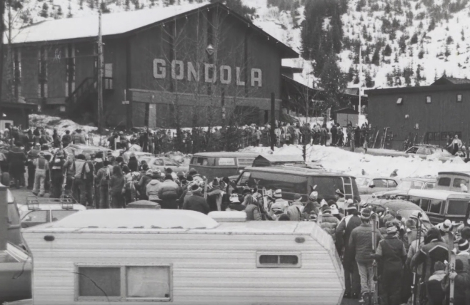 Looks like the gondola line was a mission too! (Film screengrab)