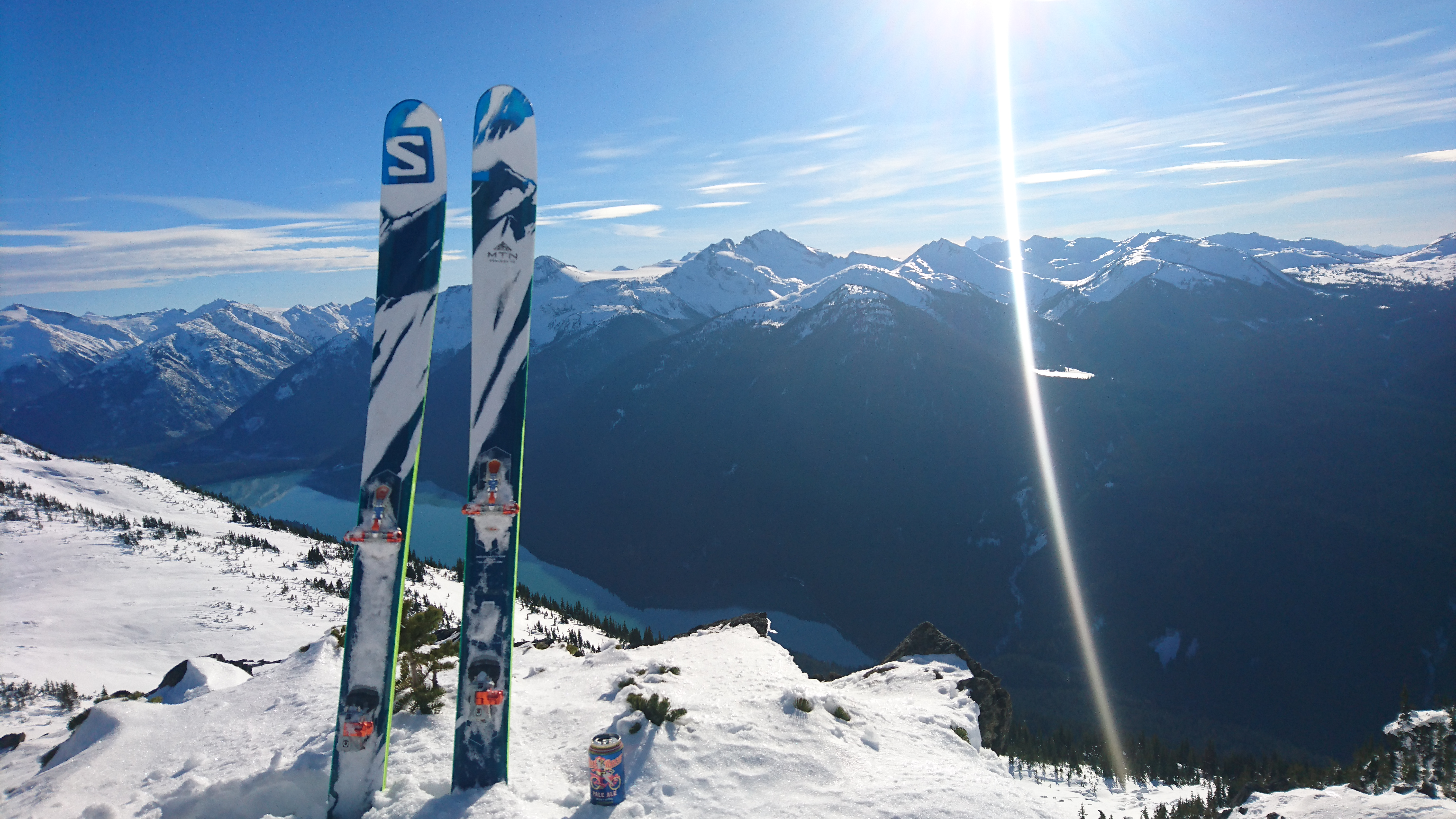 High pressure ain't all bad... especially with these skis