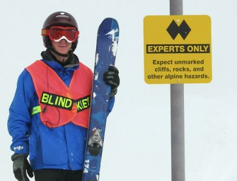 Skiing Blind with Donovan Tildesley