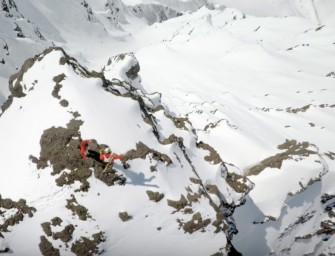 Davenport Shreds Super C Couloir With Lots of GoPro Toys