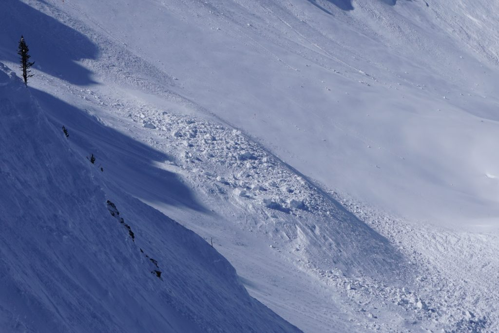 Skier compacted debris in Feuz the size of cars