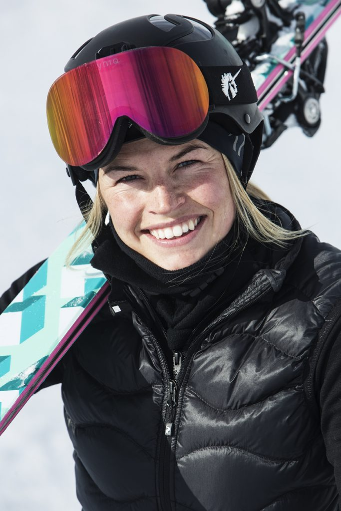 Hedvig Wessel, the 2017 champion in women's alpine