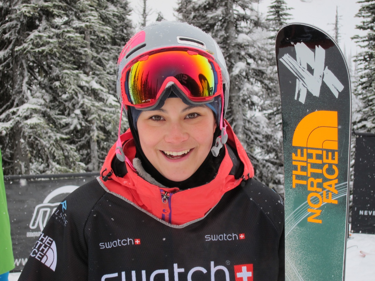 Janina Kuzma Stoked on her Run