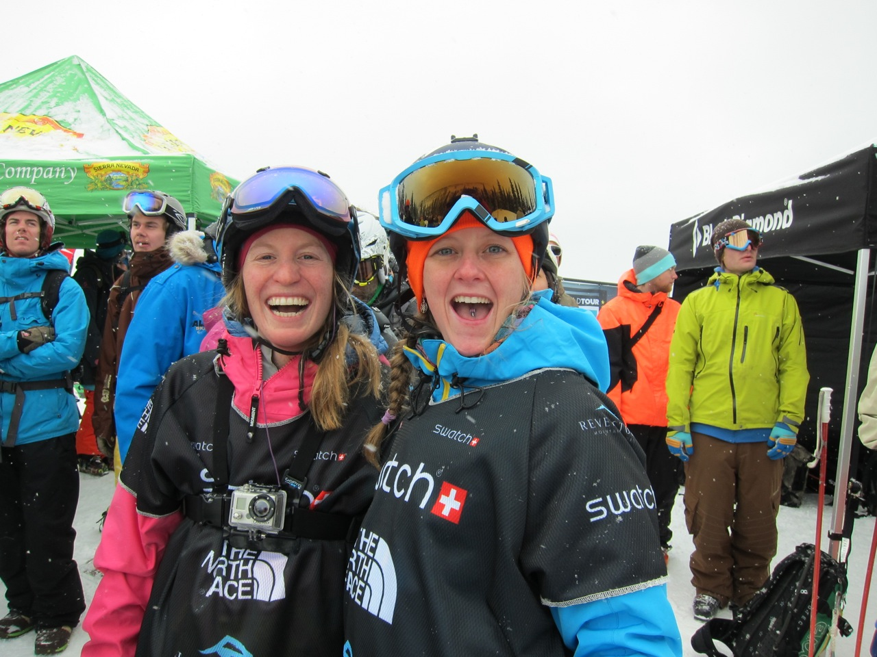 Louise & Ashley sending their love to doglotion