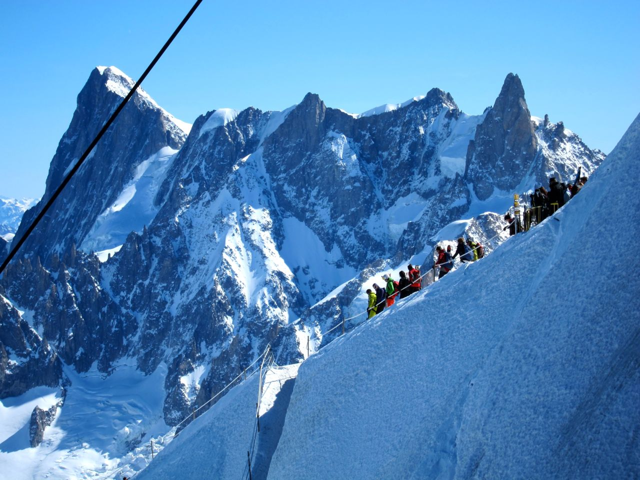 Couloir Cosmique Wake Up Call – Chamonix Diaries Part 1