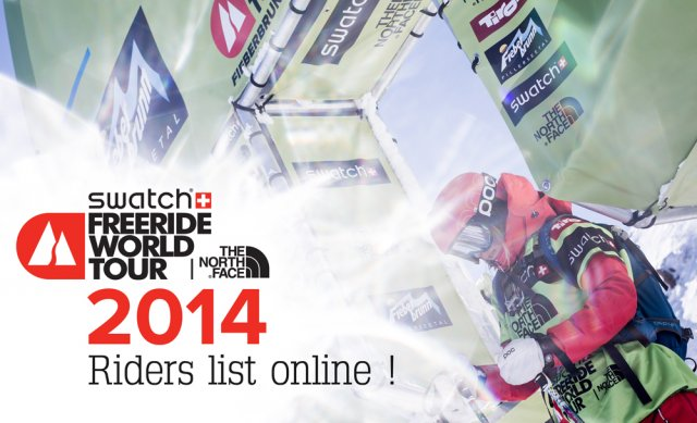 Athletes Announced for FWT 2014 – Congrats Francisty!