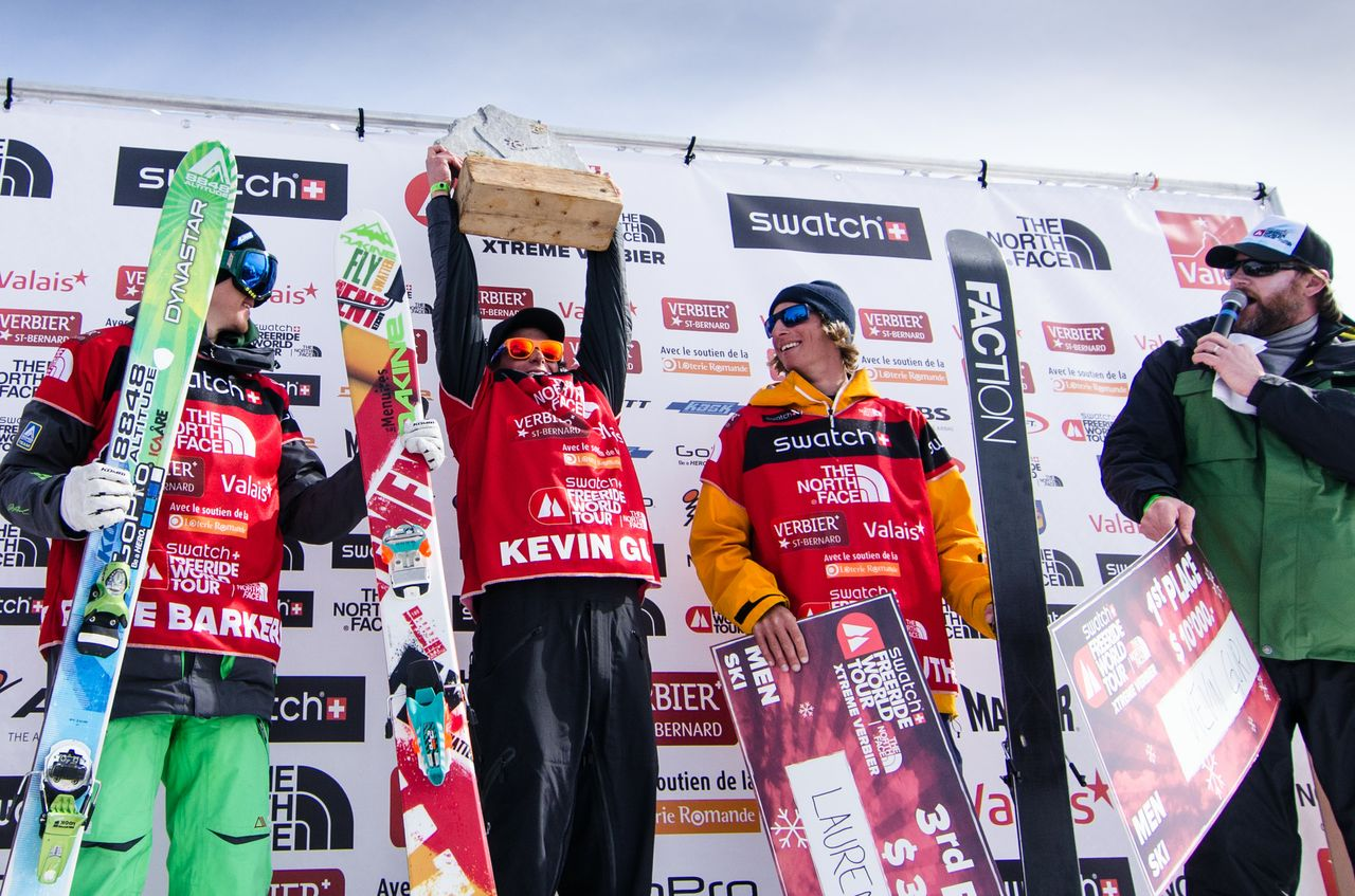 Freeride World Tour Champions! Action from Verbier 2013
