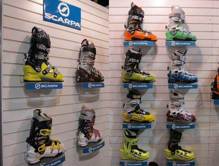 Scarpa Boots – SIA 12 – Next Year's Sneak Peek with Video