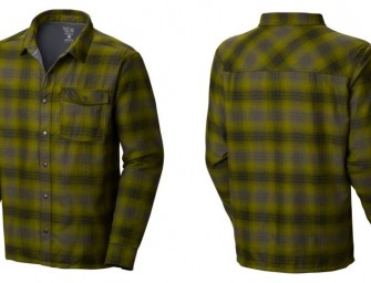 Gear Grab of the Week: Mountain Hardwear Trekkin™ Flannel Shacket