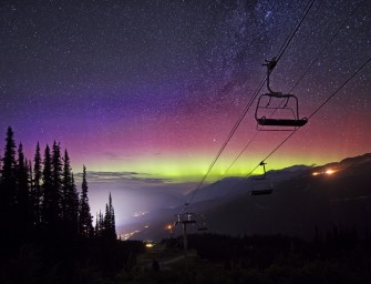 Epic Whistler Timelapses by Night Ninja David McColm