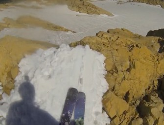 Hilarious Backcountry Glacier Jib Sessions