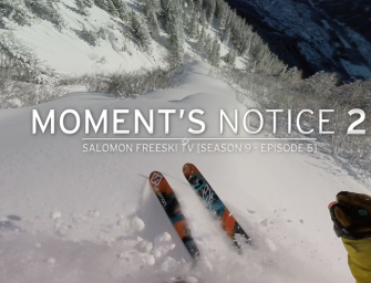 Moments Notice – Epic Deepness in Chamonix with SFTV