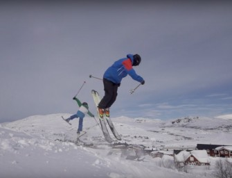 Salomon Freeski Hits Riksgransen