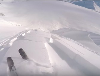 Tanner Hall in AK – Making Us Drool – Ski Diaries 2