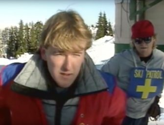 Skiers Vs Snowboarders – 1985 Epic Throwback