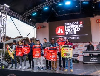 The 2017 Freeride World Tour Champs Just Got Crowned in Verbier