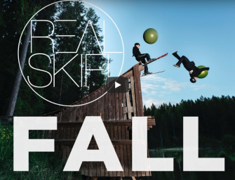 Dropping Through Fall – Like Only Real Skifi Can