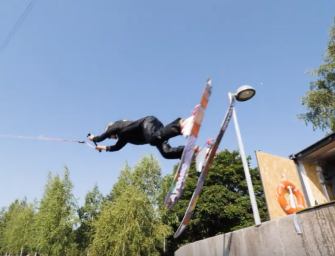 VIDEO: Real Skifi Hit the Wakepark