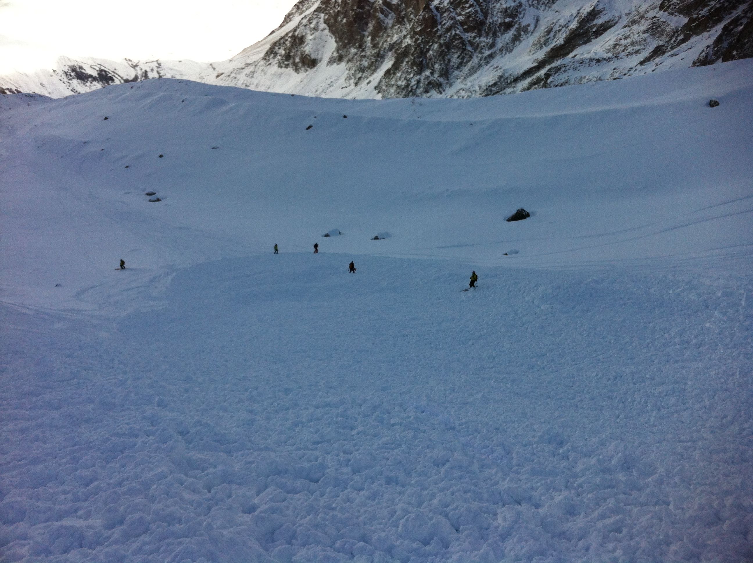 La Grave Lessons – Day One, Run One