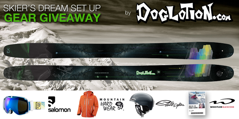 Winner! Skier's Dream Set Up Gear Giveaway