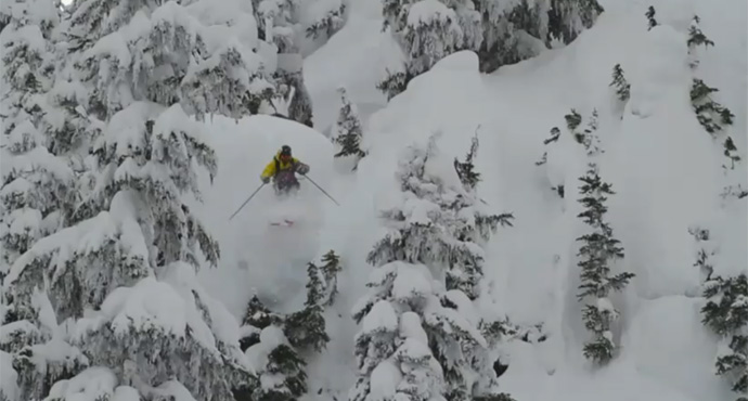 Nuking Snow at Whistler Blackcomb – Storm Season Continues