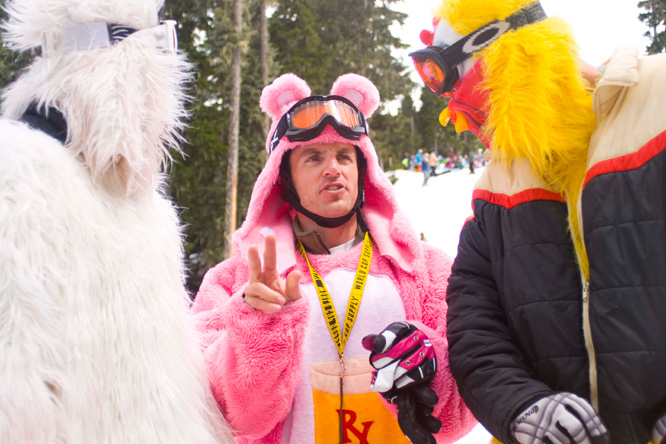 Gaper Day 2010 Moments – #2 – Pink Bear Goes Extreme