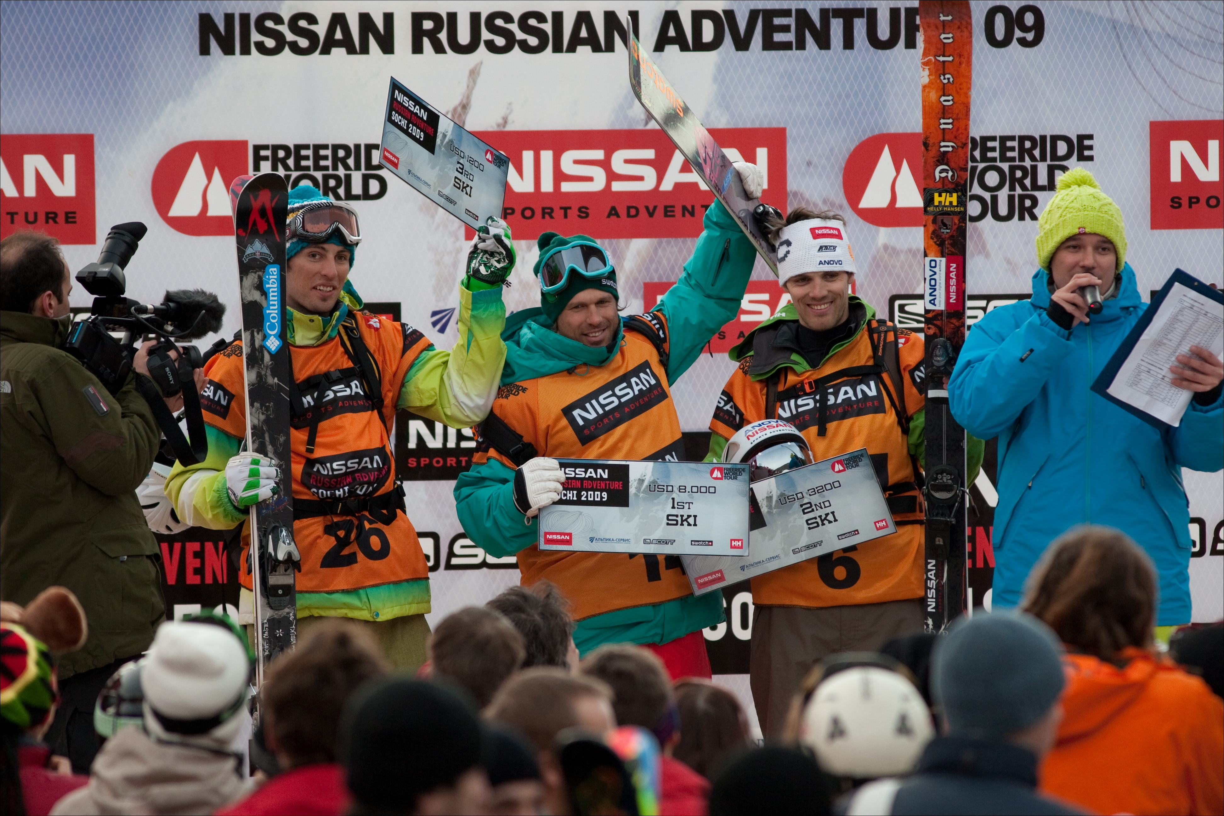 Russia Freeride World Tour Stop #1 Went Off