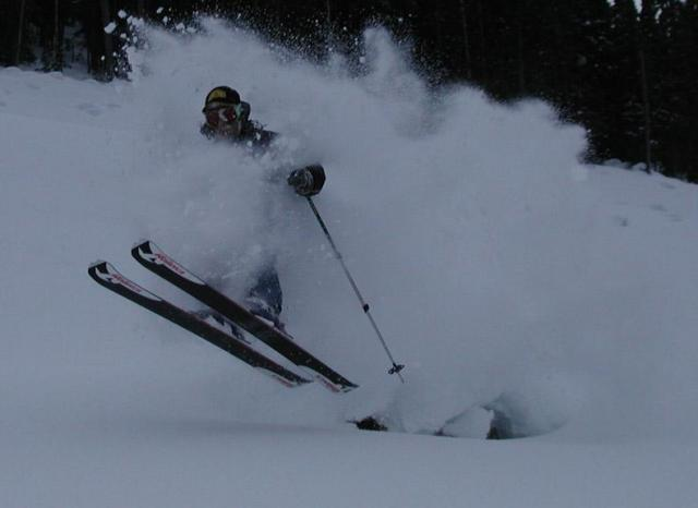 Powder in Cayoosh