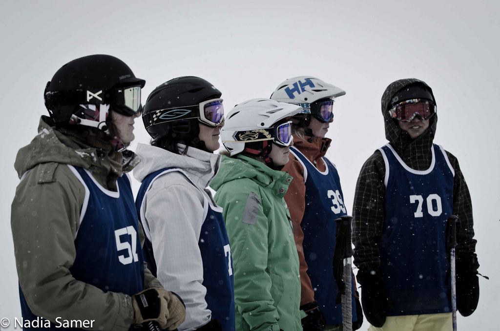2011 Smith Optics Big Mountain Challenge Just Begun at Lake Louise