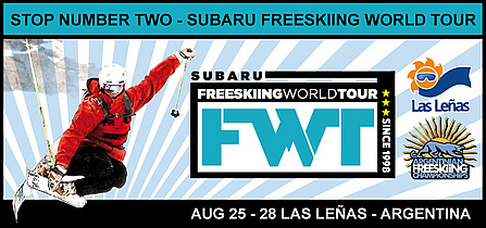 It's Official – World Freeskiing Tour Coming to Las Lenas