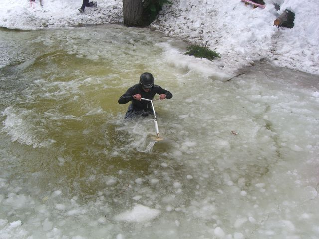 Drowning, Dirt and Crowds – Gaper Day 2010 Was All Time