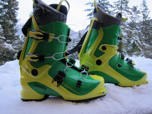 Black Diamond Quadrant Alpine Touring Ski Boot Review