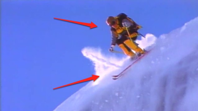 Scot Schmidt Vs. Skinny Skis… Fight